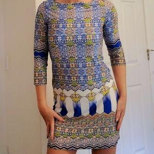 Isle By Melis Kozan Turkey Abstract Mini Dress